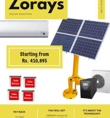 Zorays Solar AC