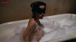 Ayn Ruymen nude topless and butt in the tube - Private Parts (1972)