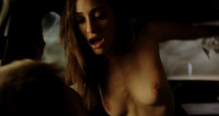 Emmy Rossum nude topless and hot sex in the car - Shameless (2011) S1E3 HD 1080p BluRay (3)