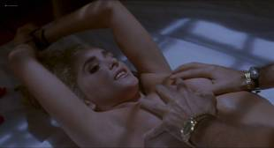 Aimee Leigh nude but covered in Hellraiser III (1992) HD 1080p BluRay