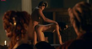 Jessica Grace Smith naked and sex doggy style - Spartacus GotA S1E4 1