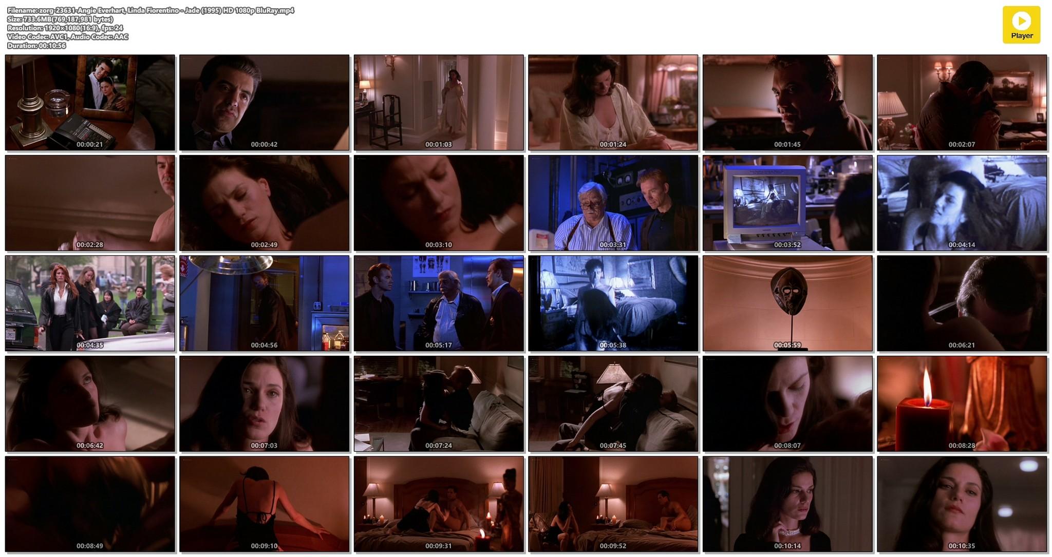 Linda Fiorentino nude Angie Everhart nude full frontal - Jade (1995) HD 1080p BluRay (1)