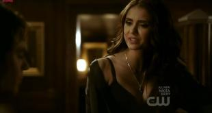 Nina Dobrev hot sexy cleavage - The Vampire Diaries S02E16 hd720p