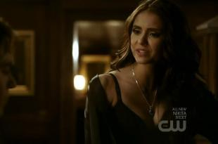 Nina Dobrev hot sexy cleavage – The Vampire Diaries S02E16 hd720p