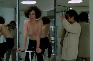 Sigourney Weaver nude topless and very hot – Half Moon Street (1986)
