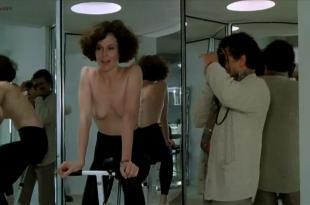 Sigourney Weaver nude topless and very hot – Half Moon Street (1986)