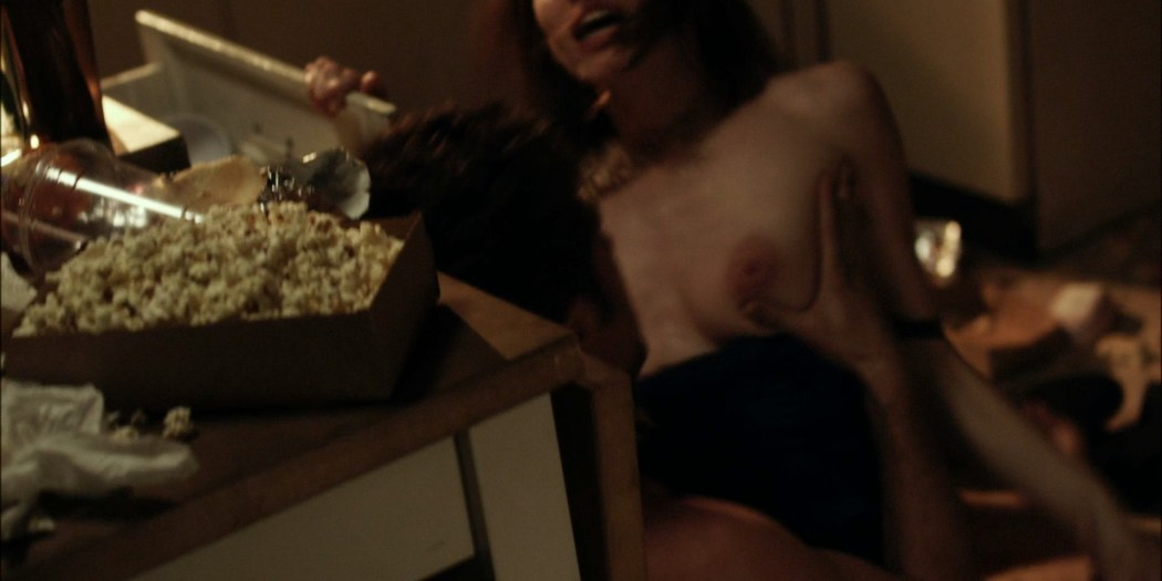 Emmy Rossum nude topless in Shameless (2011) - s1e1 HD 1080p BluRay (4)