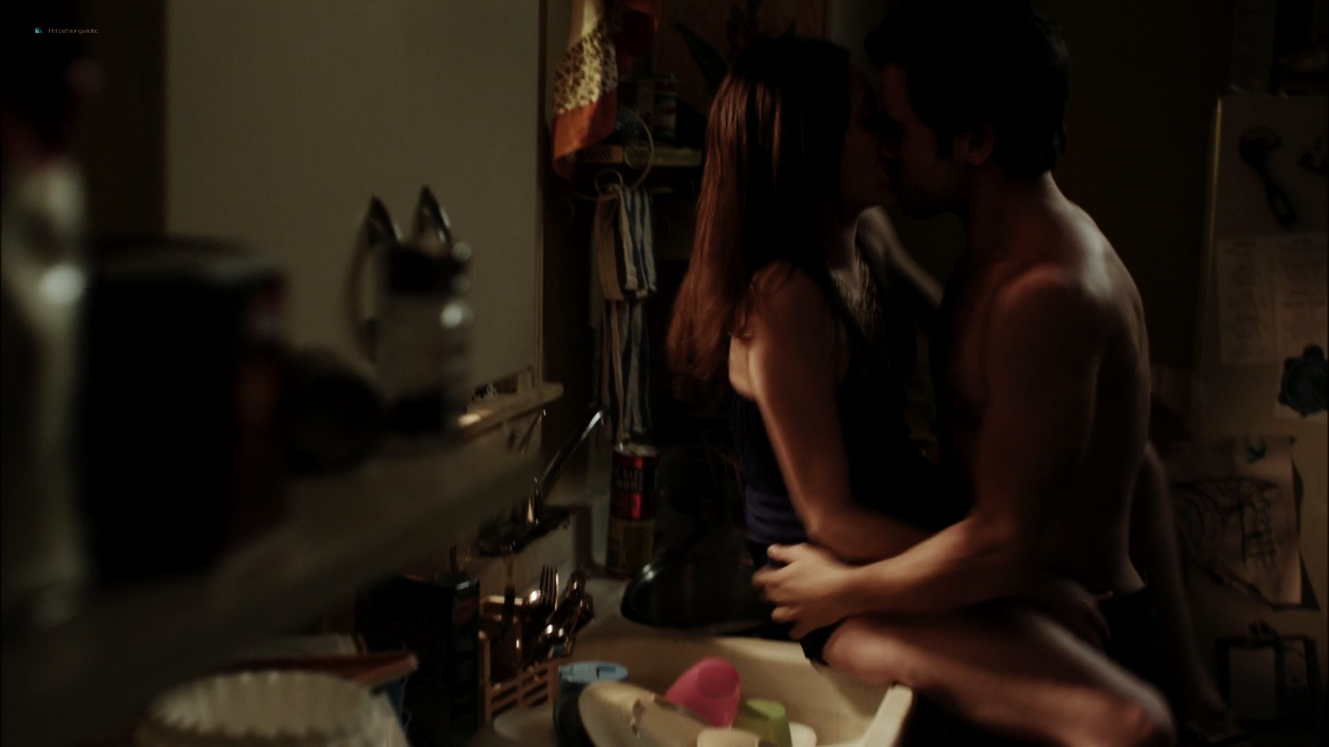 Emmy Rossum nude topless in Shameless (2011) - s1e1 HD 1080p BluRay (11)