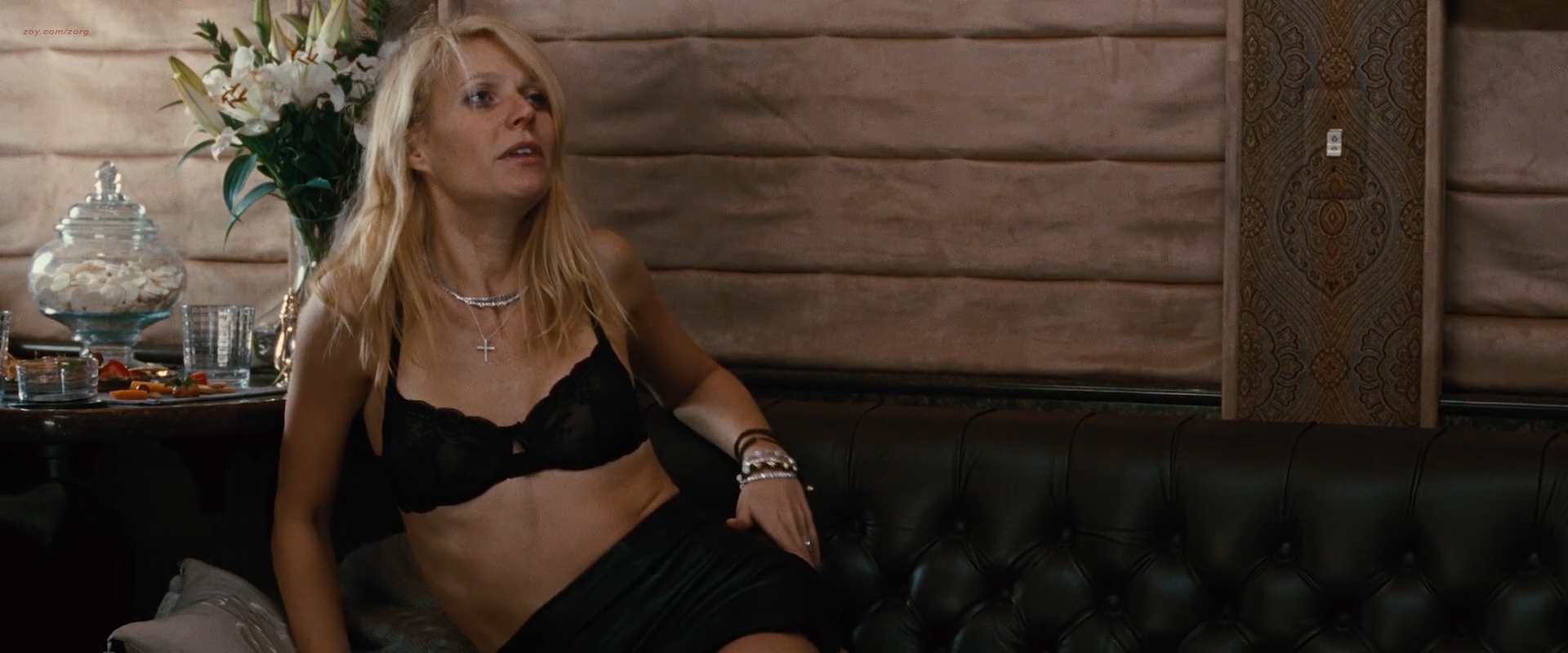 Leighton Meester hot and Gwyneth Paltrow sexy in lingerie - Country Strong (2010) hd1080p (3)