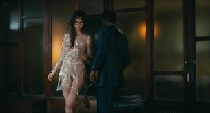 "Paz de la Huerta naked and full frontal nude from ""Limits of control"" hd1080p"