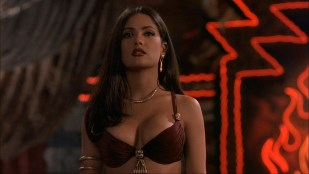 Salma Hayek sexy busty seductive vampire in Dusk Till Dawn (1996) hd1080p