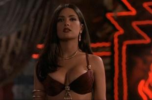 Salma Hayek sexy busty seductive vampire in Dusk Till Dawn (1996) hd1080p