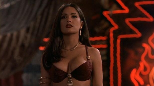 Salma Hayek sexy busty seductive vampire from Dusk Till Dawn (1996) hd1080p (16)