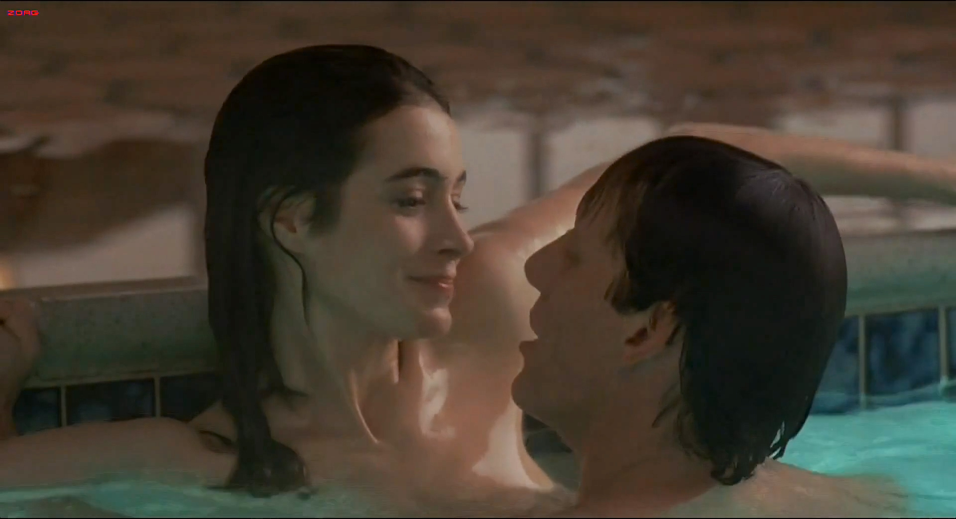 Sean Young nude butt, skinny dipping and sex in the pool - The Boost (1988) hd1080i (6)