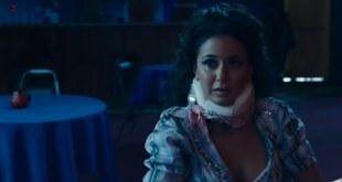Emmanuelle Chriqui hot and big cleavage - Saint John of Las Vegas (2009)