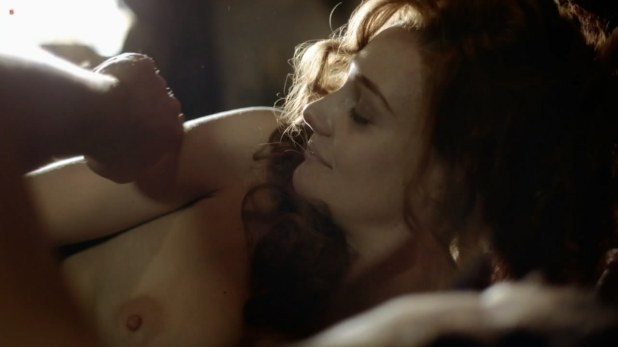 Romola Garai nude topless hot sex - The Crimson Petal And The White s1e1 hd720p