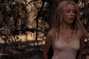 Amber Heard not nude but hot in lingerie from – The Ward (2010)