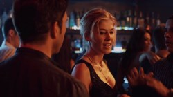 Rosamund Pike hot sex in the car doggy style and Emily Meade nude brief topless- Burning Palms (2010) hd720p (8)