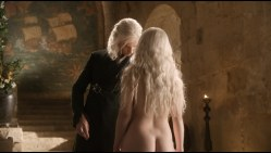 Emilia Clarke nude topless and butt naked in - Game of Thrones s01e01 hdtv1080p