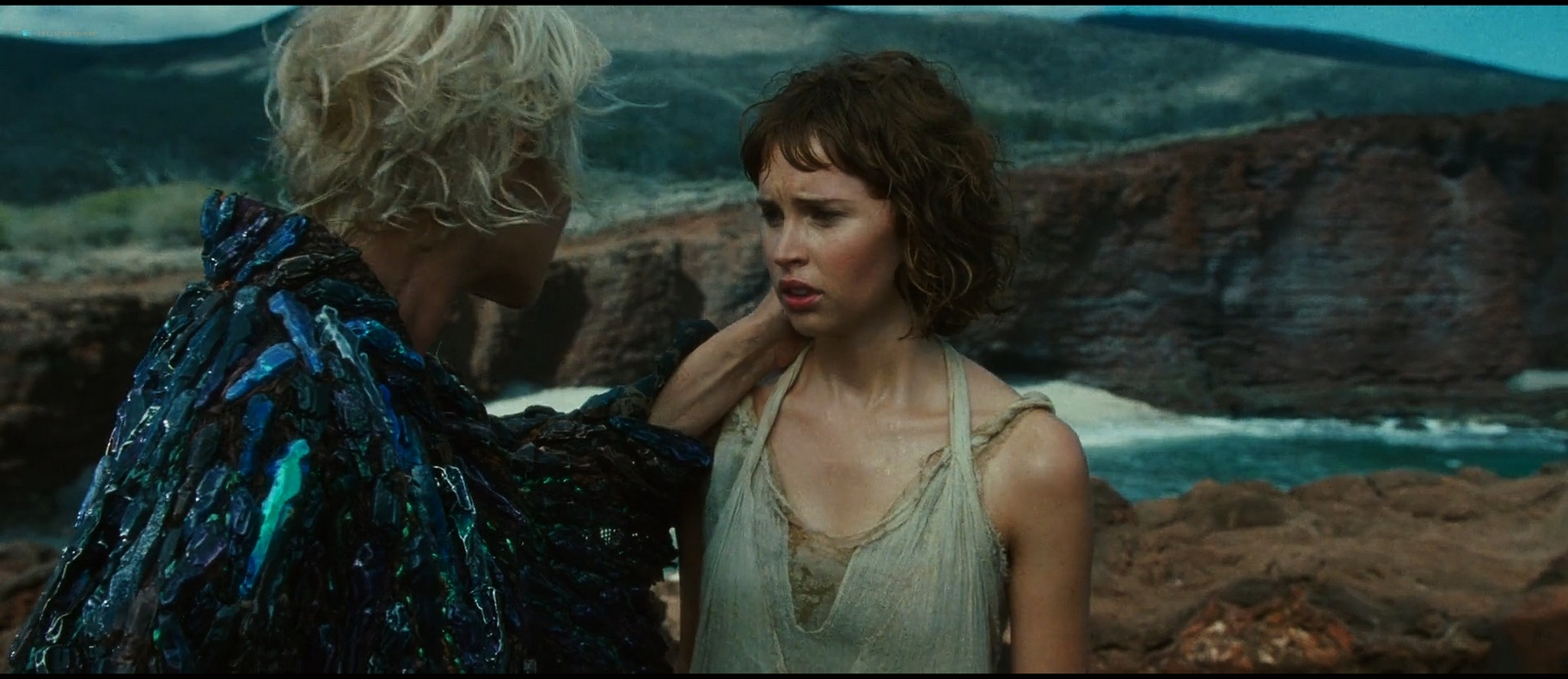 Felicity Jones hot and sexy - The Tempest (2010) HD 1080p BluRay (11)