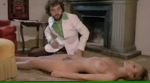 Lina Romay and Martine Stedil nude threesome sex - Swedish Nympho Slaves (1977)