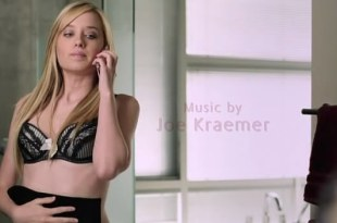 Megan Park hot in bra and lingerie  – The Perfect Teacher (2010)