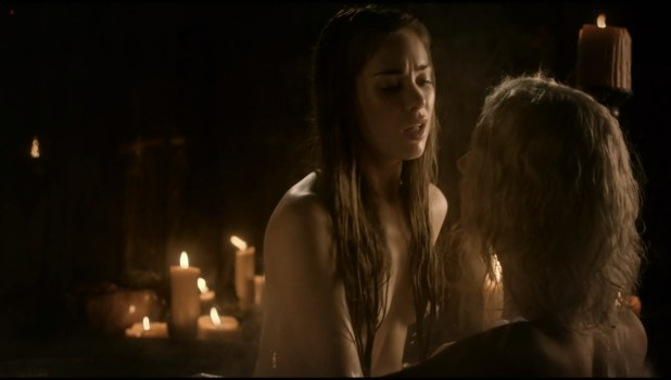 Roxanne McKee nude topless in Game of Thrones S01E04 hd1080p
