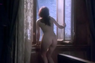 Adrianna Biedrzynska nude topless and butt naked in - Hanussen (1988)