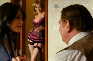 "Dominique McElligott & Sarah Green sexy and busty in ""The Guard"" (2011)"
