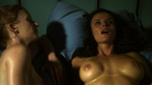 Ana Alexander and Jill Evyn all naked and nude sex in Chemistry s1e9 hd720p (10)