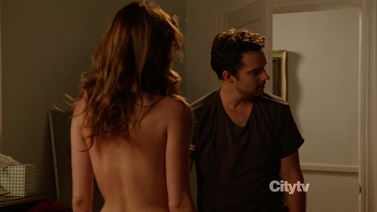 Lake Bell And Zooey Deschanel Sexy Stripping To Nude Back -4261
