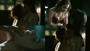 Caroline Dhavernas nude brief topless and hot sex - Surviving My Mother (2007)