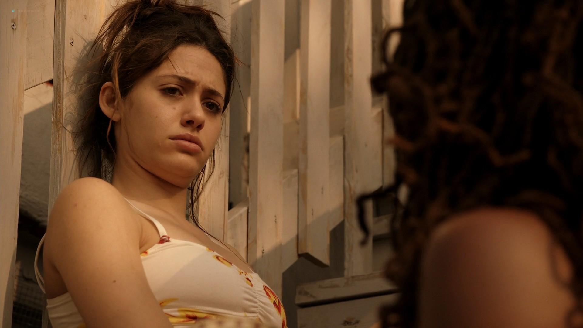 Emmy Rossum nude topless Laura Wiggins nude sex - Shameless (2012) s2e1 HD 1080p BluRay (2)