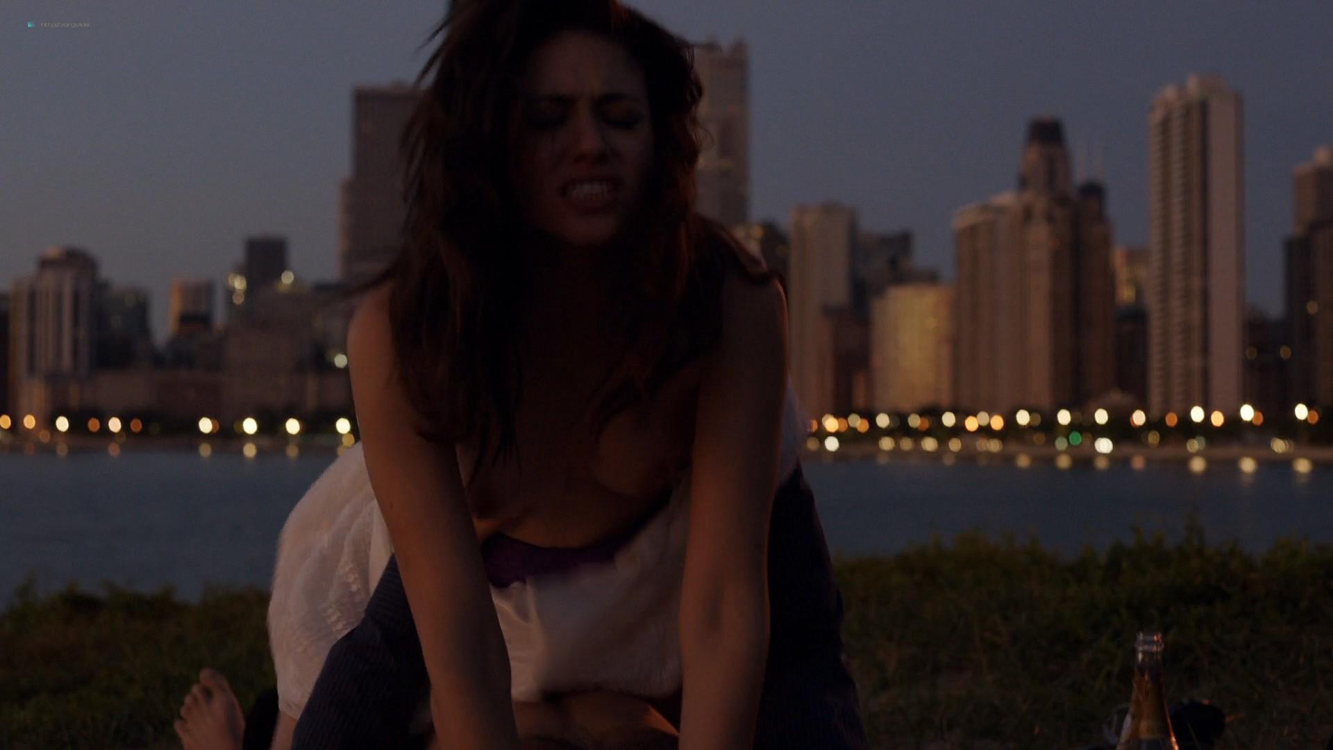 Emmy Rossum nude topless Laura Wiggins nude sex - Shameless (2012) s2e1 HD 1080p BluRay (11)