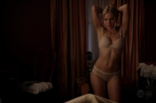 Kristen Bell very hot and sexy in lingerie from – House of Lies s1e4 hd720p
