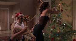 Lauren Graham hot and sexy in - Bad Santa (2003) hd1080p
