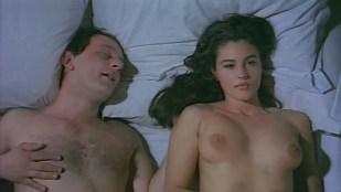 Monica Bellucci nude topless and hot sex  - La riffa (1993)