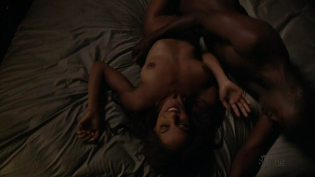 "Megalyn Echikunwoke nude topless and hot in ""House Of Lies"" S1E6 hd720p"