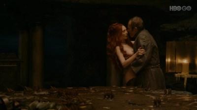 Carice van Houten nude bush, Sahara Knite and Amy Dawson nude sex- Game Of Thrones (2012) s2e2 HD 1080p (36)