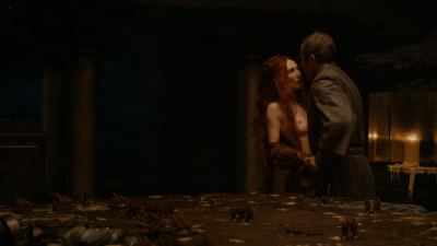 Carice van Houten nude bush, Sahara Knite and Amy Dawson nude sex- Game Of Thrones (2012) s2e2 HD 1080p (13)