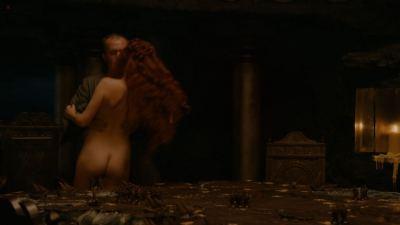 Carice van Houten nude bush, Sahara Knite and Amy Dawson nude sex- Game Of Thrones (2012) s2e2 HD 1080p (12)