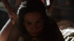 Carice van Houten nude bush, Sahara Knite and Amy Dawson nude sex- Game Of Thrones (2012) s2e2 HD 1080p (3)