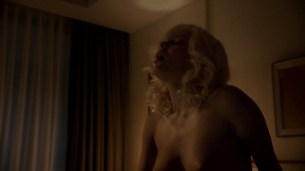Jessica Marais naked seductive sex and great nude topless rack - Magic City s1e4 hd70p (15)