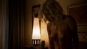 Jessica Marais naked seductive sex and great nude topless rack - Magic City s1e4 hd70p (18)