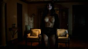 Jessica Marais naked seductive sex and great nude topless rack - Magic City s1e4 hd70p (11)