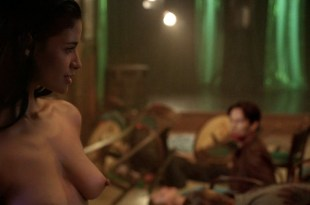 Jessica Clark full frontal nude – topless and bush from – True Blood s5e7 hd720p