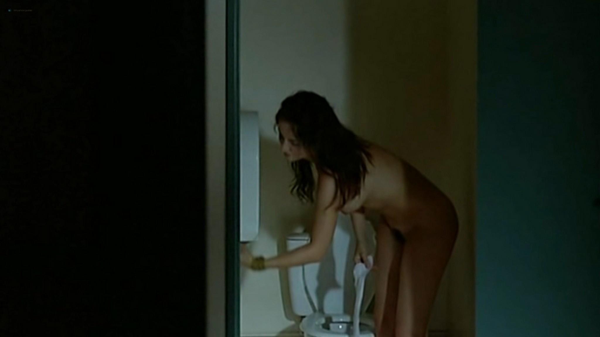 Salomé Stévenin nude full frontal, bush sex threesome - Douches Froides (FR-2005) (6)
