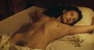 """Virginie Ledoyen all nude topless and bush in """"Les adieux à la reine"""" (2012)"""