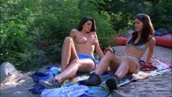 Louise Cliffe nude topless - Wrong Turn 3: Left for Dead (2009) HD 1080p (7)
