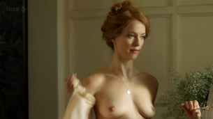 Rebecca Hall nude topless - Parade's End s01e02 hd720p (1)